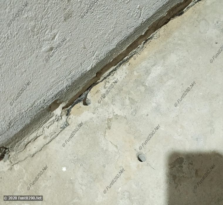 Насверливаем дыры в полу