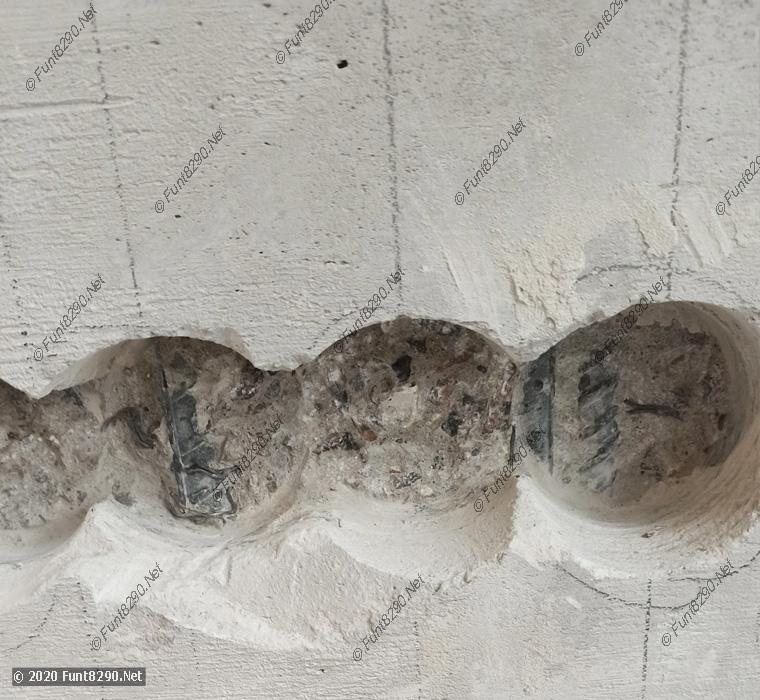 Подрозетники на арматуре
