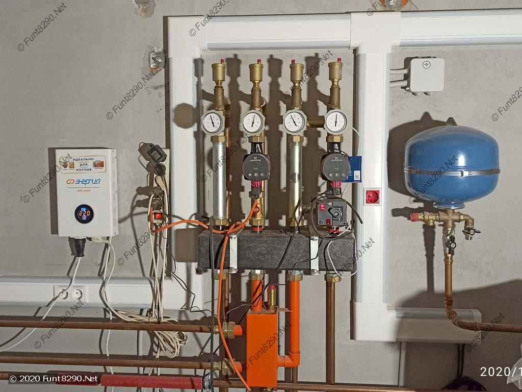 Электрика в котельной в кабель-канале
